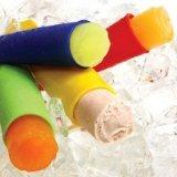 Schlanken Körper Wickeln (Saxon® - 4 Stück Silikon-Eis-Pop Maker Set, Ice Pop Formen, FDA genehmigt u. BPA frei. Machen Fruit Smoothie & Ice Pops Pops. Sie können Ihre perfekte Genuss für die ganze Familie zu schaffen. NON STICK & Flexibel, und sie reinigen super einfach. Perfekte Party boxed Geschenk.)