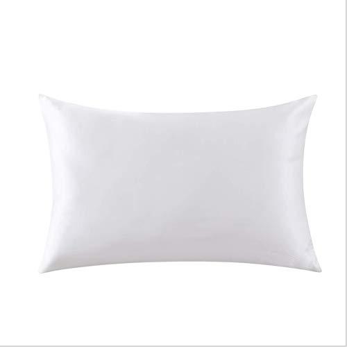 ug Seidige Kissenbezüge für Haar und Haut Prozent Mulberry Luxury Covers Doppelseitige Seide Kissenbezug Bettwäsche Versteckter Reißverschluss ()