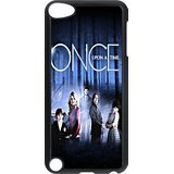 Black/White Sides Classic Style Custom Unique Once Upon a Time Design Skin Cover Case for iPod Touch 5th Durable Plastic iPod 5 Case - Classic Custom Les Paul