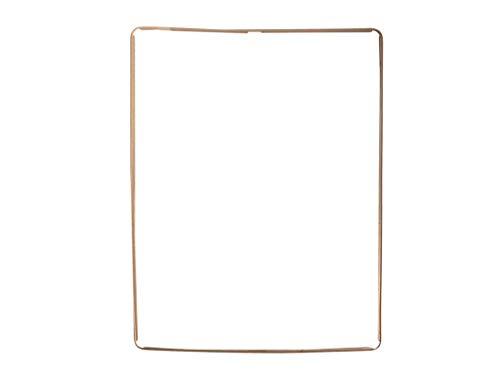 Rahmen Kleber Dichtung für iPad 2 Frame Adhesive Bezel Socket Display weiß (Ipad 2 Display-rahmen-ersatz)