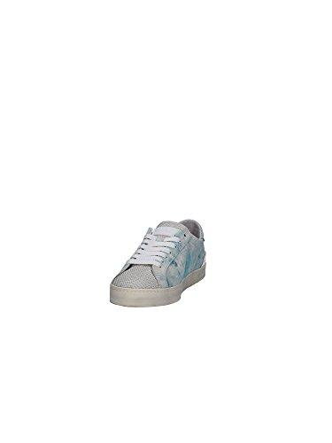 D.A.T.E. , Damen Sneaker Himmelblau