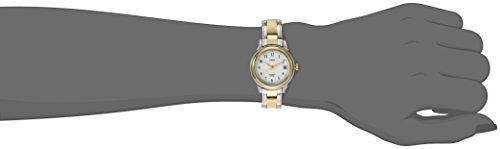 Timex Women's T25771 Elevated Classics Dress Sport Chic Two-Tone Bracelet Watch