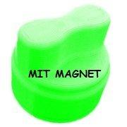 Mutti-Dreher Drehhilfe passend für den Thermomix® TM5 und TM6 (Neongrün mit Magnet)