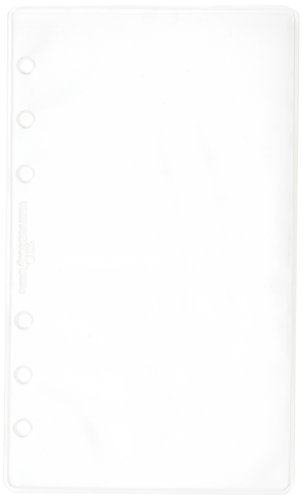 Filofax B133612 Personal Klarsichthülle, oben offen