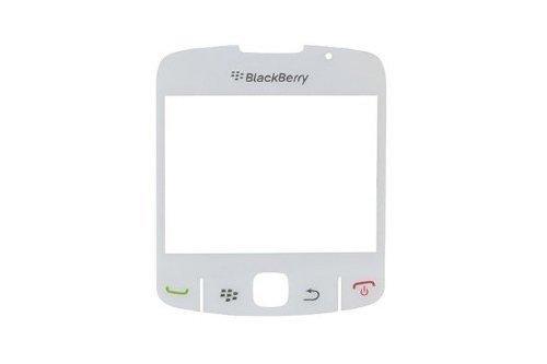 Bislinks Original Bianco per Blackberry Curve 8520 LCD vetro frontale