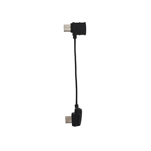 Zhuhaixmy Sync Data Kabel Schnur Draht with Standard Micro USB Steckverbinder Stecker für DJI Mavic Pro Controller