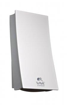 34155 WAVE Dispensador de jabón blanco /plata / Perle iridiscente