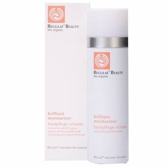 Regulat Beauty Brilliant Moisturizer, Gesichtspflege Schaum, Dr. Niedermaier, 150 ml