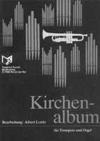 KIRCHENALBUM - arrangiert für Trompete - (B/C) - Orgel [Noten / Sheetmusic] - TRP (B/C) ORG