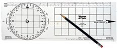 Weems & Plath Marine Navigation Protractor by Weems & Plath -