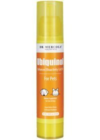 Dr. Mercola Ubiquinol for Pets Liquid Pump - 1.96 Fl Oz (58 mL) - Enhanced Bioactivity CoQ10 - Dietary Supplement For Cats & Dogs - In An Airless Pump To Ensure Freshness by Dr....