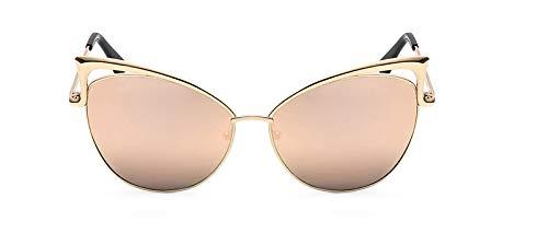 LKVNHP cat Eye Brille Sonnenbrille cateye rosa Spiegel Sonnenbrille für Frauen 2017Barbie pink