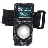 Fellowes Scuba Handschuh Körper MP3 Anzug für iPod Nano 2nd Generation, Schwarz (CRC85718-BULK)