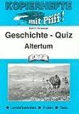 Geschichte-Quiz, Altertum