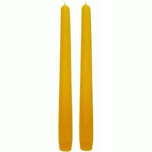 2 x Spitzkerze (200/23mm) 100% Bienenwachs Kerze Tafelkerze Bienenwachskerze