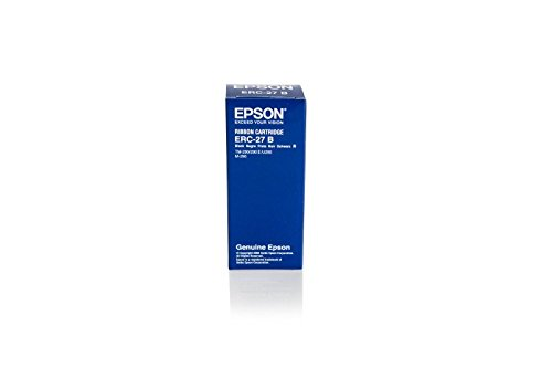 Originale Epson C43S015224 / 29001B Nastro (nero) per 290; CTM 290, 390; ERC 27; M 290; TM 290, 295; TM-H 3000; TM-U 290, 295