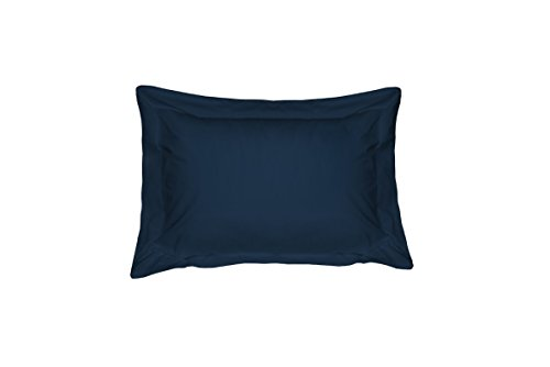 Highland Feder versaille-sateen Betten Kissen Sham, Queen, Marineblau -