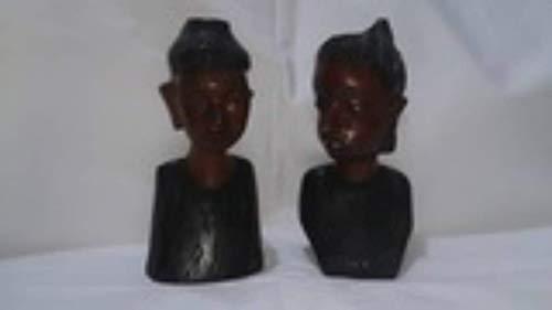 Hogar Decoración Adornos Hogar Figuras Madera Decorativas