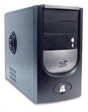 AOPEN Computer H450B Schwarz PC Gehäuse MidiTower 2x5.25 Schwarz