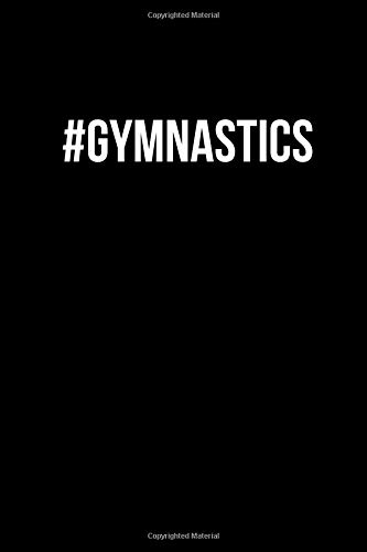 #Gymnastics: Small Lined Notebook / Journal to Write In por Blank Publishers