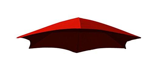 Vivere DRMUF-CR Tissu Parasol, Rouge