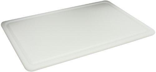 San Jamar CB121812GVWH Kolor-Cut Grooved Cutting Board, 12