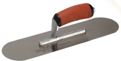 MARSHALLTOWN TROWEL - Pool Trowel, Flexible Steel Blade, 14 x 4-In, DuraSoft Handle