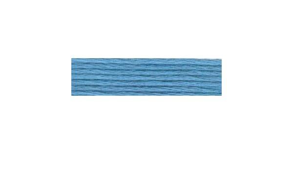 Anchor Sticktwist 6fädig 8 m 100 /% BW porzellanblau 977