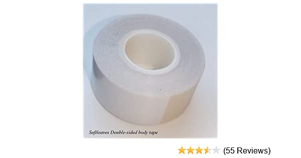 01f0b3d57842e Softleaves Double Sided Skin Adhesive Tape Fashion Tape Sotleaves body tape  Bodytape  Amazon.co.uk  Kitchen   Home