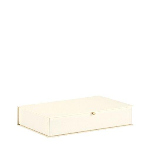Rössler Papier - Serie Pure Love, Brilliant - Memory Box mit aufklappbaren Deckel, 275x170x50 mm - 1 Stück (Mit Deckel Papier-boxen)