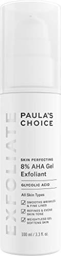 Paula's Choice Skin Perfecting 8% AHA Gel Peeling Gesicht   Fruchtsäure Exfoliator mit Glycolsäure   Minimiert Falten & Pigmentflecken   Alle Hauttypen 100 ml -