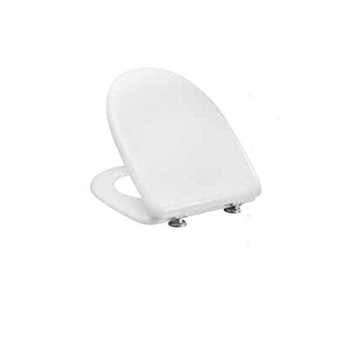 Pozzi Ginori 56760000 Pozzi Selnova 3 Sedile con Cerniere in Plastica, Bianco
