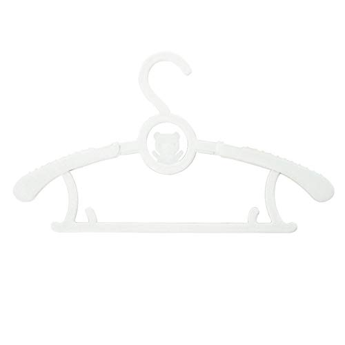 HJKGSVdv Ausziehbare Kinder KleiderbüGel WäSchetrockner Halter Rack 5 Stück beige