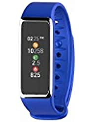 MyKronoz KRZEFIT3HR-Blue/Silver Activity Tracker, Blue/Silver, UNIVERSAL