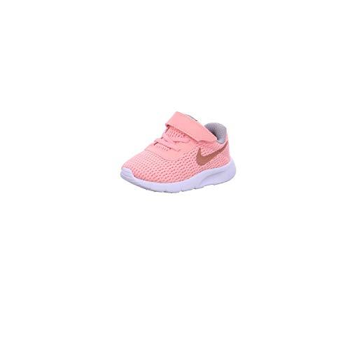 Nike Mädchen Tanjun (TD) Gymnastikschuhe, Pink Tint/MTLC Rose Gold/Atmosphere Grey 607, 23 1/2 EU (Baby Nike Mädchen Schuhe Für)