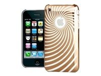 Iphone 3g Hard Snap (Katinkas Twister Hard Cover für Apple iPhone 3G gold)