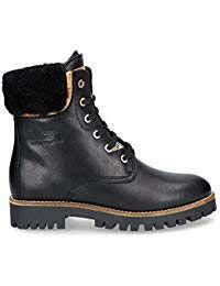 PANAMA JACK Damen Winterstiefel Talvi Igloo,Frauen Winter-Boots,Fellboots,Lammfellstiefel,Fellstiefel,gefüttert,Warm,Schwarz,EU 41