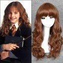 Hermione Harry Potter perücke von hoher qualität (Erwachsener/Kind)