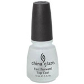 China Glaze Nail Polish - Fast Forward Top Coat 14ml