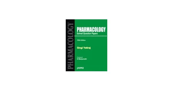 buy pharmacology solved question papers book online at low prices
