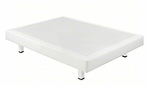 Boxspringsysteme starr Pikolin Kunstleder 3d – Versand kostenlos und erhältlich in allen Maßnahmen x cm (105x200, Weiß)