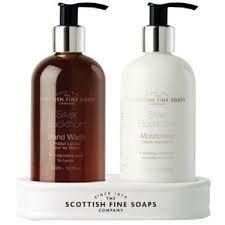 Scottish Soaps Silver Buckthorn Hand Care Set 2x300ml Pump Bottles