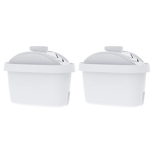 Waterdrop TÜV SÜD zertifiziert Krug Wasserfilter, kompatibel mit Brita Maxtra+, Brita Maxtra Style Marella Cool Mavea Elemaris XL Brita Fun Water Jug(2)