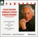 Preisvergleich Produktbild Homm.a Chopin / V-U.Fag-Konzert