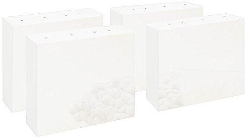 Pinolino 133400 Wickelkommoden - Erhöhung Weiß Hochglanz Hochglanz MDF Uni, weiß lackiert