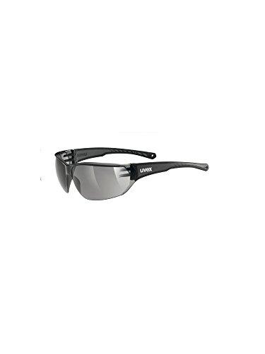 Uvex Unisex Sportbrille Sportstyle 204, smoke/lens smoke, One Size, 5305252110,