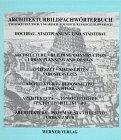 Architekturbildfachwörterbuch, Deutsch-Englisch-Ungarisch-Polnisch-Russisch-Slowakisch