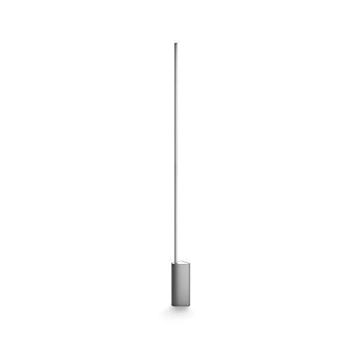 Philips Hue Signe - Lámpara de pie inteligente LED Integrado en aluminio, luz blanca y de colores, compatible con Bluetooth y Zigbee, funciona con Amazon™ Alexa y Google™ Home