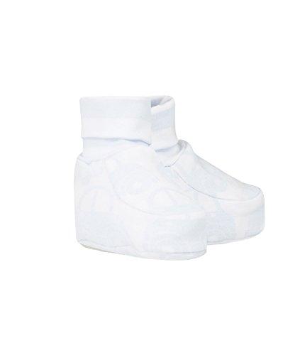 Döll Baby-Jungen Socken Babyschuhe zum Wenden Jersey Blau (Heather 3090) One Size (Herstellergröße: 0)