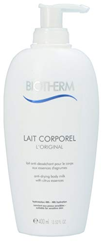 Biotherm Lait Corporel Anti-Dessechant Körperlotion für Frauen, 1er Pack (1 x 400 ml) -